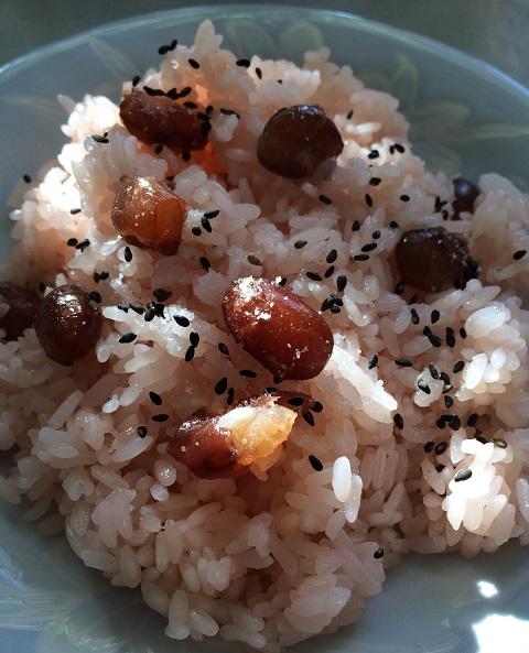 北海道ではお赤飯に甘納豆を入れるって本当なの?